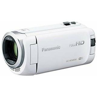 Panasonic - パナソニック HDビデオカメラ W585M 64GB ワイプ撮り ホワイト