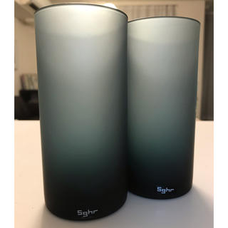 スガハラ(Sghr)のスガハラ ガラス フロスト グラス 2脚セット 新品未使用(グラス/カップ)