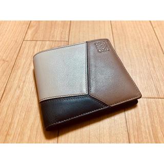 LOEWE - LOEWE ロエベ 二つ折り 財布 ウォレット パズル