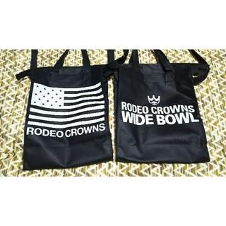 ロデオクラウンズワイドボウル(RODEO CROWNS WIDE BOWL)の【RODEO CROWNS】ショッパー×2袋(ショップ袋)