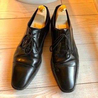 リーガル(REGAL)の定価2.4万 リーガル ストレートチップ  725R ブラック(ドレス/ビジネス)