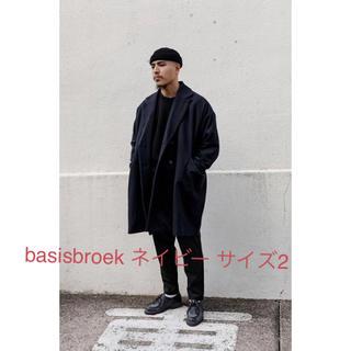 バージスブルック(BASISBROEK)のbasisbroek eggs ネイビー  サイズ2(チェスターコート)
