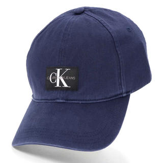 Calvin Klein - CK カルバンクライン キャップ 帽子 ネイビー 新品未使用‼