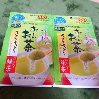伊藤園 - お~いお茶  さらさら抹茶入り緑茶80g×2個