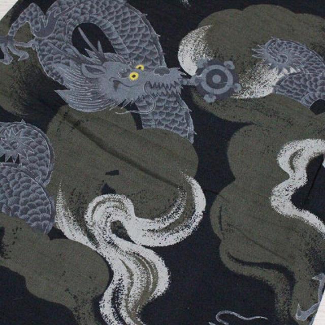 ふりふ(フリフ)の龍柄浴衣 撫松庵 単としても レディースの水着/浴衣(着物)の商品写真