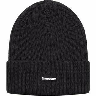 シュプリーム(Supreme)のSupreme 19SS Overdyed Beanie Black(ニット帽/ビーニー)