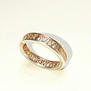 ヴィヴィアンウエストウッド(Vivienne Westwood)のVivienne Westwood/WESTMINSTERリング ピンクゴールド(リング(指輪))