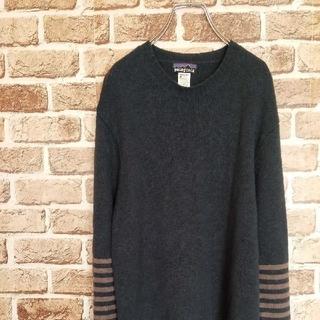 パタゴニア(patagonia)のパタゴニア 裾タグロゴ 袖ストライプ ラムズウール セーター(ニット/セーター)