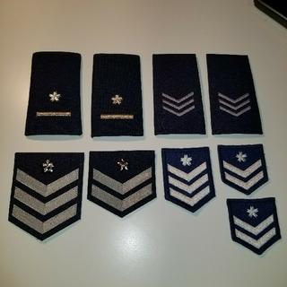 航空自衛隊 階級章(襟章)