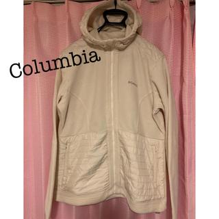 Columbia - Columbia ボアフリースパーカー キルティング切替 ホワイト