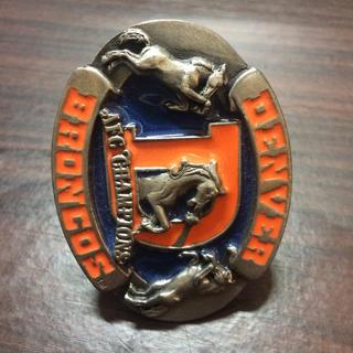 Denver broncos badge(アメリカンフットボール)