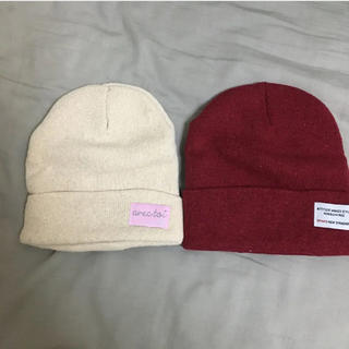 スピンズ(SPINNS)のスピンズ ウィゴー ニット帽(ニット帽/ビーニー)