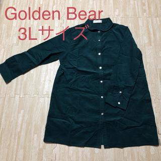 ゴールデンベア(Golden Bear)のロングシャツ グリーン系(シャツ/ブラウス(長袖/七分))
