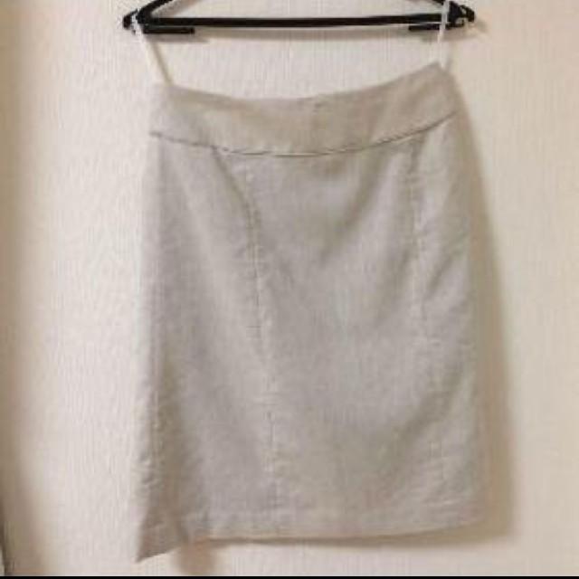 ORIHICA(オリヒカ)のオリヒカ ウォッシャブル ジャケット&スカート 9号 ベージュ レディースのフォーマル/ドレス(スーツ)の商品写真