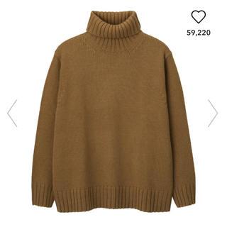 GU - ローゲージタートルネックセーター GU