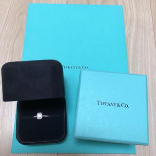 ティファニー(Tiffany & Co.)のティファニー エメラルドカット 指輪(リング(指輪))