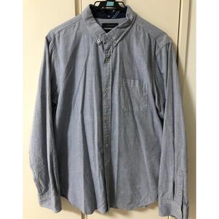 RAGEBLUE - メンズ 長袖シャツ 青地 XL 美品 レイジーブルー おしゃれ 男性 BEAMS