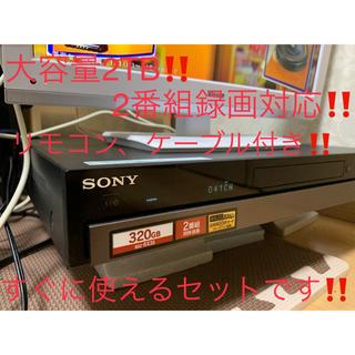 SONY - 2TBに増量‼2番組録画SONYブルーレイレコーダー BDZ-RX35