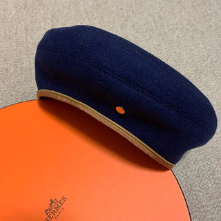 エルメス(Hermes)のエルメス ベレー帽 サントノーレ 【そうちゃん様専用】(ハンチング/ベレー帽)