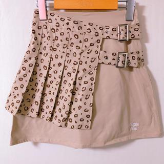 ピンクラテ(PINK-latte)のPINK-latte プリーツラップ風スカート150(ミニスカート)