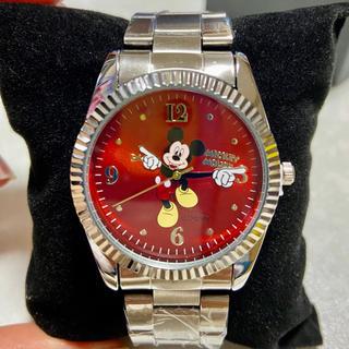 ミッキーマウス - ディズニーミッキー メタル腕時計☆新品未使用 箱無し
