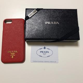 プラダ(PRADA)の【1月11日のみ限定値下げ】PRADA iPhoneケース(iPhoneケース)