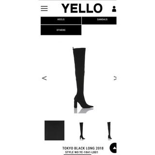 イエローブーツ(Yellow boots)のyello ニーハイブーツ(ブーツ)