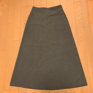 アニエスベー(agnes b.)の古着 agnes.b ギンガムチェックスカート(ロングスカート)