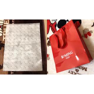 ビーミング ライフストア バイ ビームス(B:MING LIFE STORE by BEAMS)のBeming 紙袋 (ショップ袋)