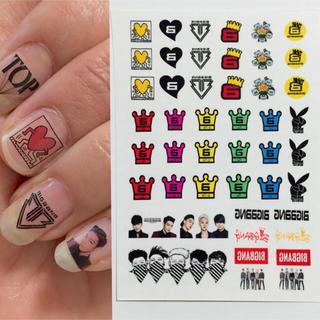 BIGBANG★ネイルシール エンタメ/ホビーのタレントグッズ(その他)の商品写真