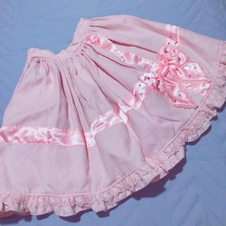 アンジェリックプリティー(Angelic Pretty)のアンジェリックプリティ スカート リボン(ひざ丈スカート)