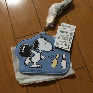 SNOOPY - スヌーピー   リール付きパスケース
