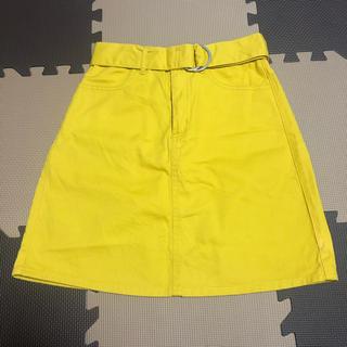 エムズエキサイト(EMSEXCITE)の台形スカート ミニスカート(ミニスカート)