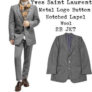 Saint Laurent - ★美品★定価約10万★Yves Saint Laurent★ウール ジャケット★
