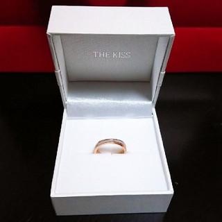 ザキッス(THE KISS)の‼️SALE‼️定価の半額‼️リング ステンレス シェル ピンクゴールド 13号(リング(指輪))