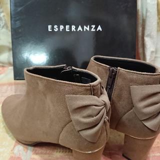 エスペランサ(ESPERANZA)の新品  ショートブーツ (М )23㎝~23.5㎝(エスペランサ)定価9790 (ブーティ)