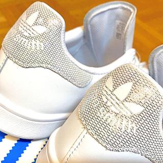 アディダス(adidas)のスタンスミス STAN SMITH 白 ホワイト シルバー ラメ 23cm 新品(スニーカー)
