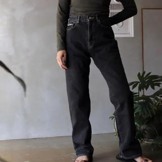 ENFOLD - お値下げ☆2019フミカウチダのハイウエストストレートジーンズ