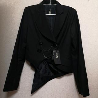 ブラックピースナウ(BLACK PEACE NOW)の定価2万円以上 BPN アシメントリージャケット(テーラードジャケット)