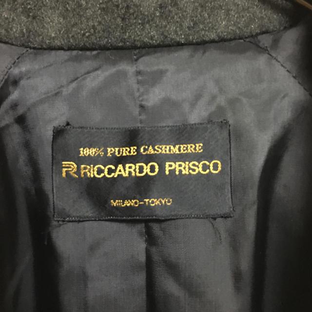 Andy(アンディ)の一点物 RICCARDO PRISCO カシミヤ100% テーラードジャケット レディースのジャケット/アウター(テーラードジャケット)の商品写真