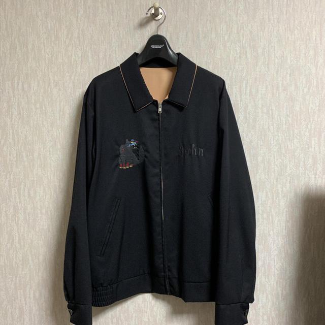 UNDERCOVER(アンダーカバー)のJohn UNDERCOVER 17SS ギャバ刺繍 ベトシャツ ベトジャン メンズのジャケット/アウター(その他)の商品写真