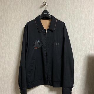 UNDERCOVER - John UNDERCOVER 17SS ギャバ刺繍 ベトシャツ ベトジャン