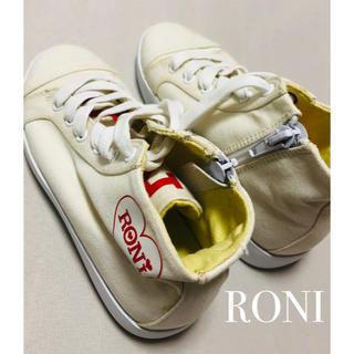 ロニィ(RONI)のロニ RONI スニーカー 新品 18(スニーカー)