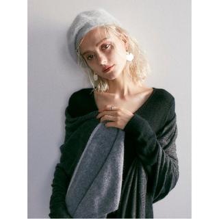 アズールバイマウジー(AZUL by moussy)の【AZUL BY MOUSSY】今期 完売品 シャギーベレー帽(ハンチング/ベレー帽)