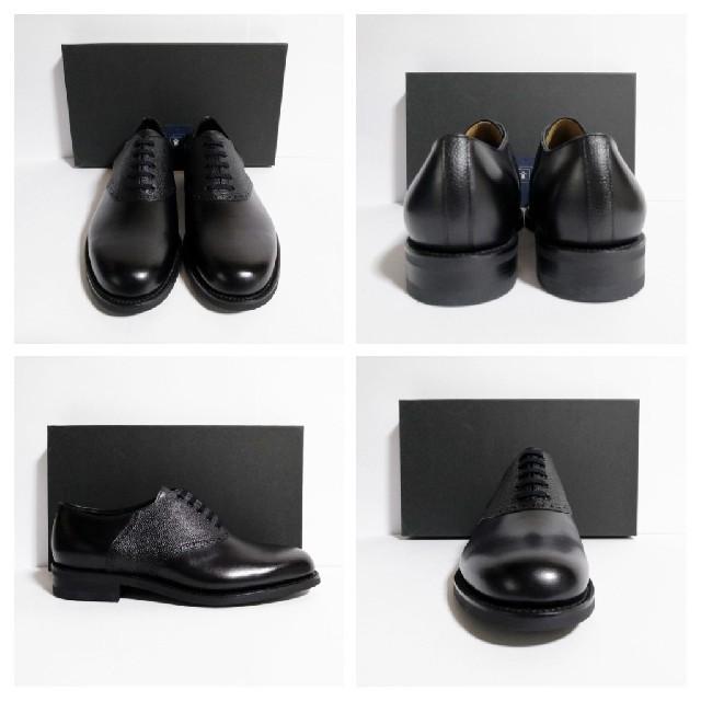 SANYO YAMACHO(サンヨウヤマチョウ)の新品 三陽山長 鞍次郎 Size8 25.5~26cm プレーントゥ メンズの靴/シューズ(ドレス/ビジネス)の商品写真