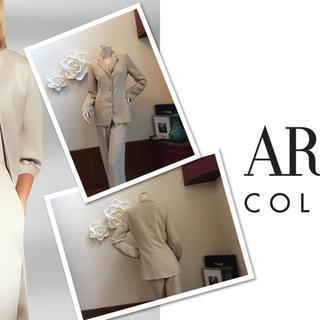 アルマーニ コレツィオーニ(ARMANI COLLEZIONI)の定価18万円⭐️出来る女子→春物パンツスーツ Armani⭐️(スーツ)