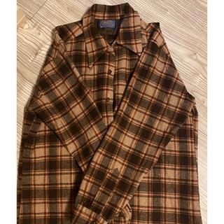 ペンドルトン(PENDLETON)のvintage woolshirt ウールシャツ 【PENDLTON】(シャツ)