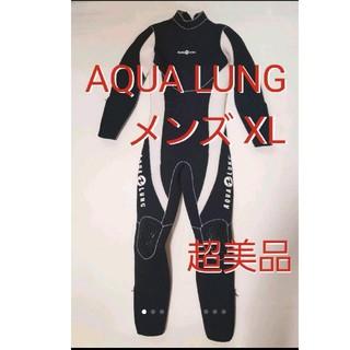 アクアラング(Aqua Lung)のアクアラング メンズ XL ウェットスーツ スキューバダイビング フルスーツ(マリン/スイミング)