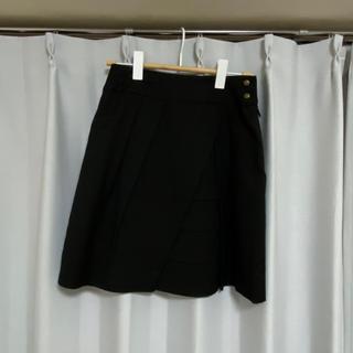 黒スカート (ひざ丈スカート)