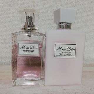 クリスチャンディオール(Christian Dior)のミスディオール ボディミルク ボディミスト(ボディローション/ミルク)